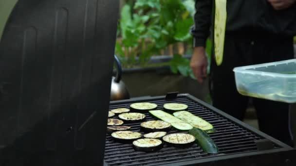 Grilování Lahodné Zelenina na grilu Charcoal