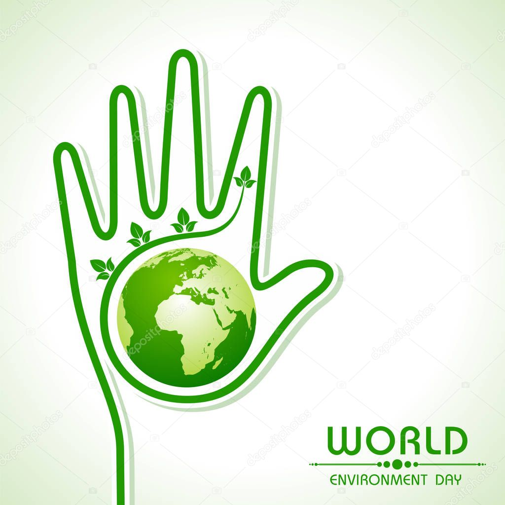 World environment day greeting