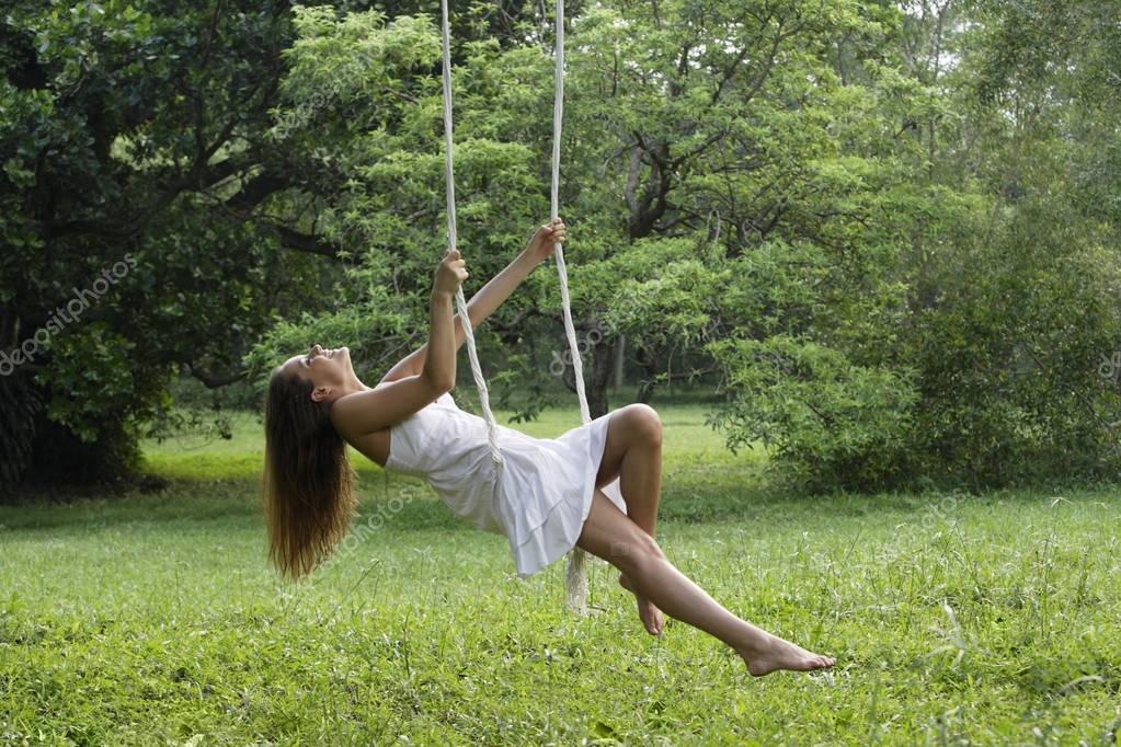 Pics of swinging woman