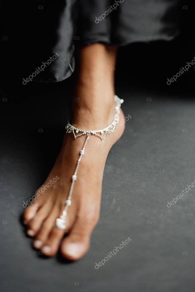 Gros plan du pied de femme — Photographie MicrostockAsia © #133448162