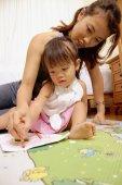 Fényképek anya és a gyermek rajz