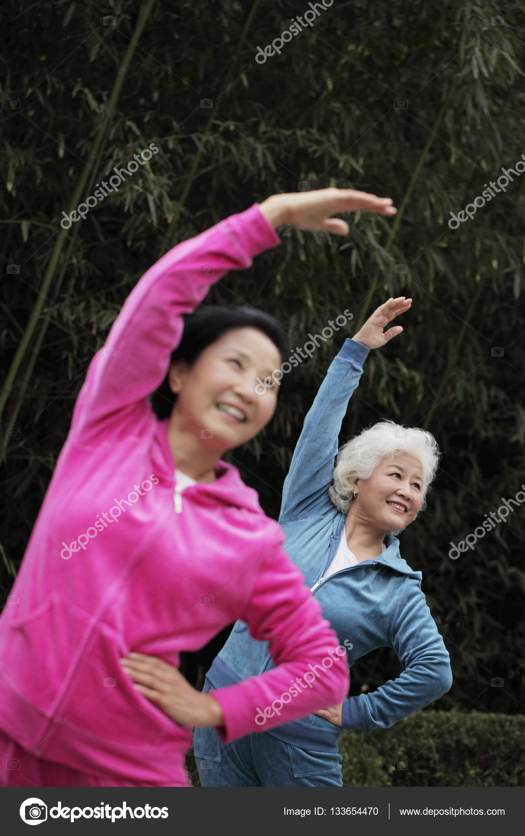 sportive mature women outdoors — stock photo © microstockasia #133654470