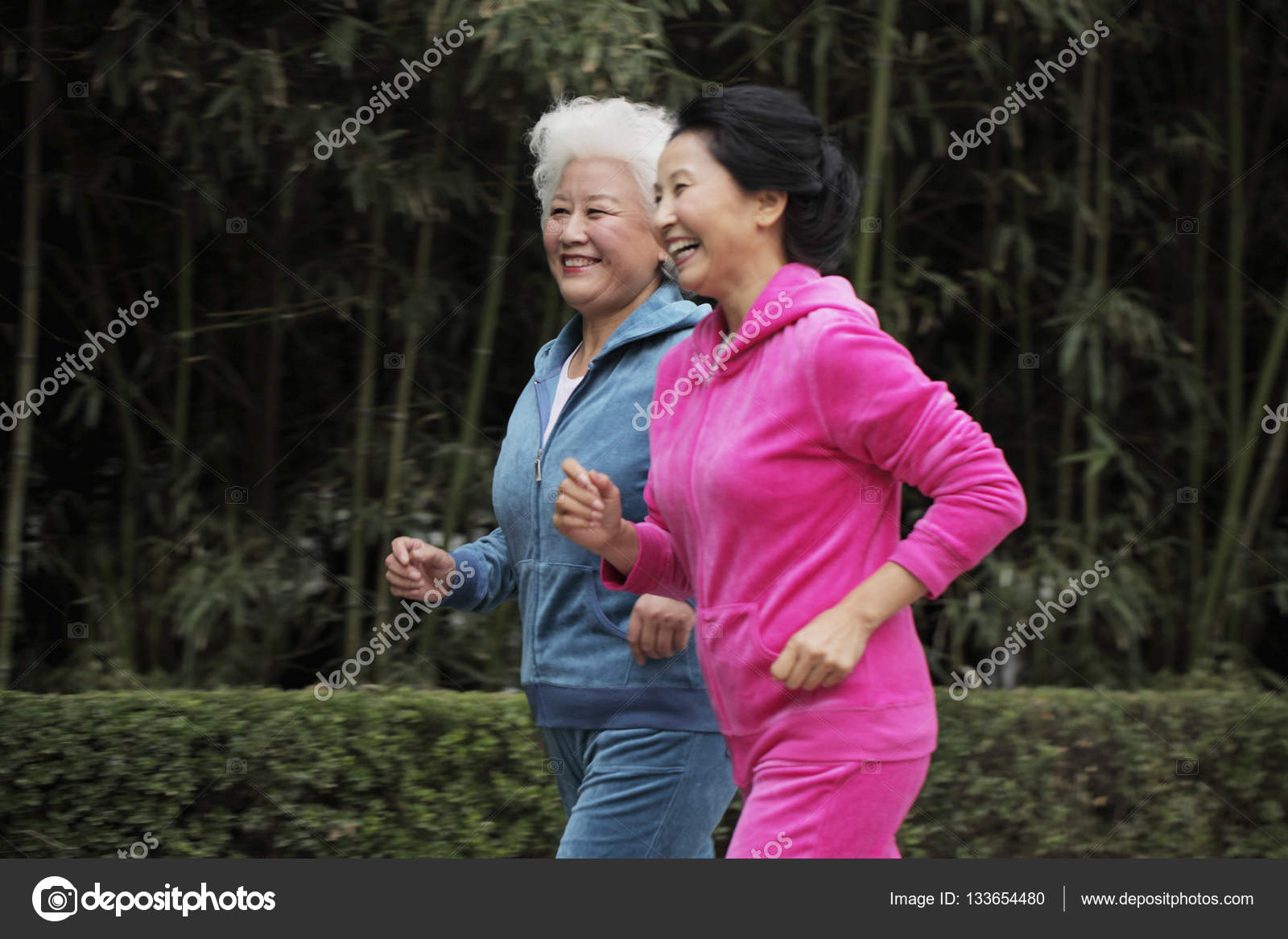 sportive mature women outdoors — stock photo © microstockasia #133654480