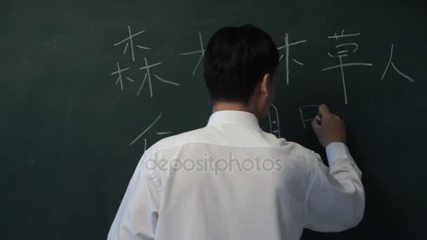 MS Man psát čínské znaky