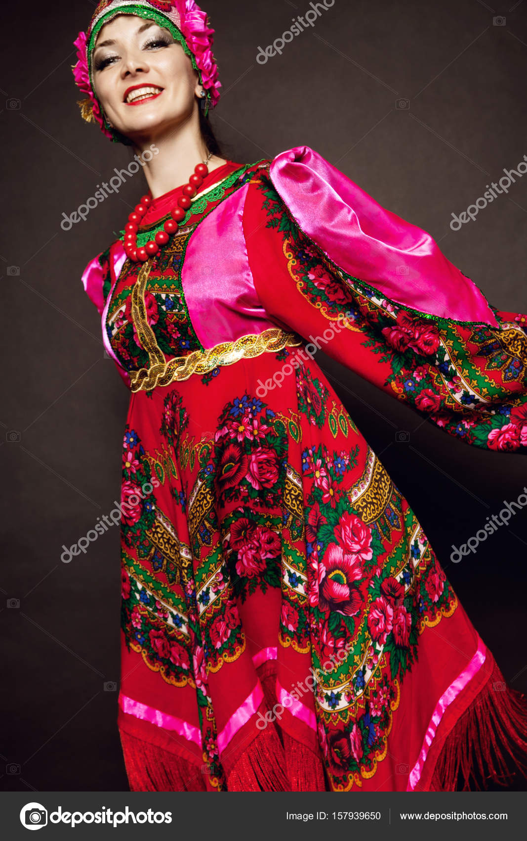 Folklorique Femme Femme Femme Russe Folklorique Costume Russe Folklorique Costume Russe Costume Costume Folklorique nOw0Pk8