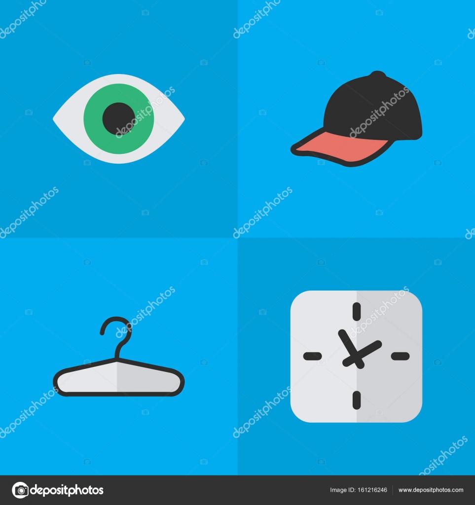 huge selection of ed7bc ac3d0 Vektor Illustration von einfachen Geräten Icons Set ...