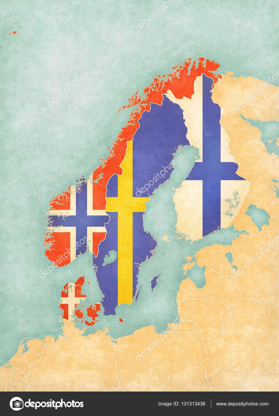 Картинки по запросу карта Скандинавии