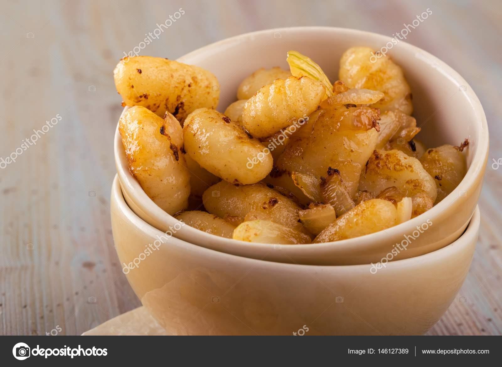 Gnocchi di patate una porzione