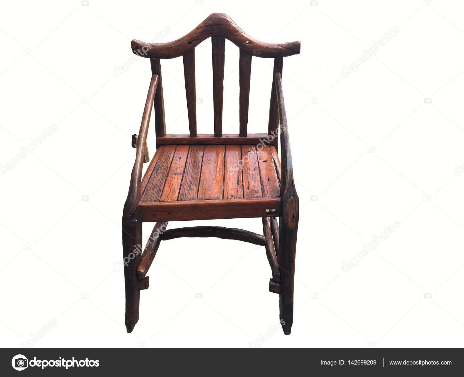 Sessel Vintage Alten Stil Aus Holz Möbel Stockfoto Margolana