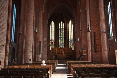 Hanover / Germany - 10 Sep 2015: The vintage church in Hanover, Germany