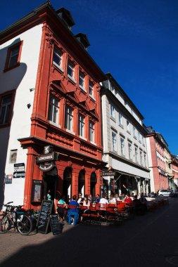 Heidelberg / Germany - 11 Sep 2015: The vintage house in Heidelberg, Germany