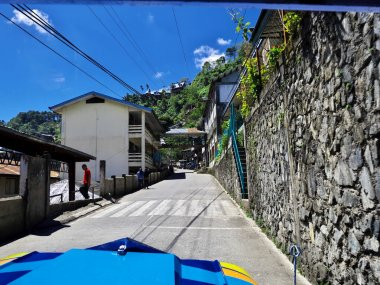 The small village in Banaue, Philippines