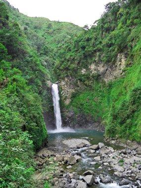 The waterfall in Banaue, Philippines