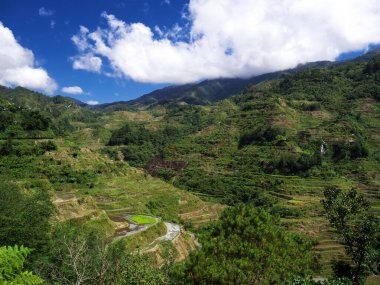 Mountains and valleys in Banaue, Philippines