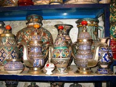 Fez, Fas 'taki yerel pazar.