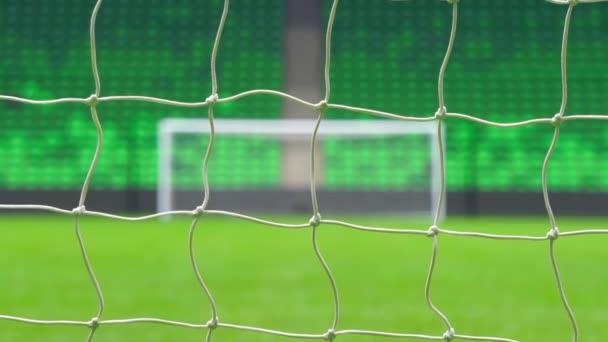 Fotbal nebo fotbal cíle prostřednictvím Internetu. Světový pohár.