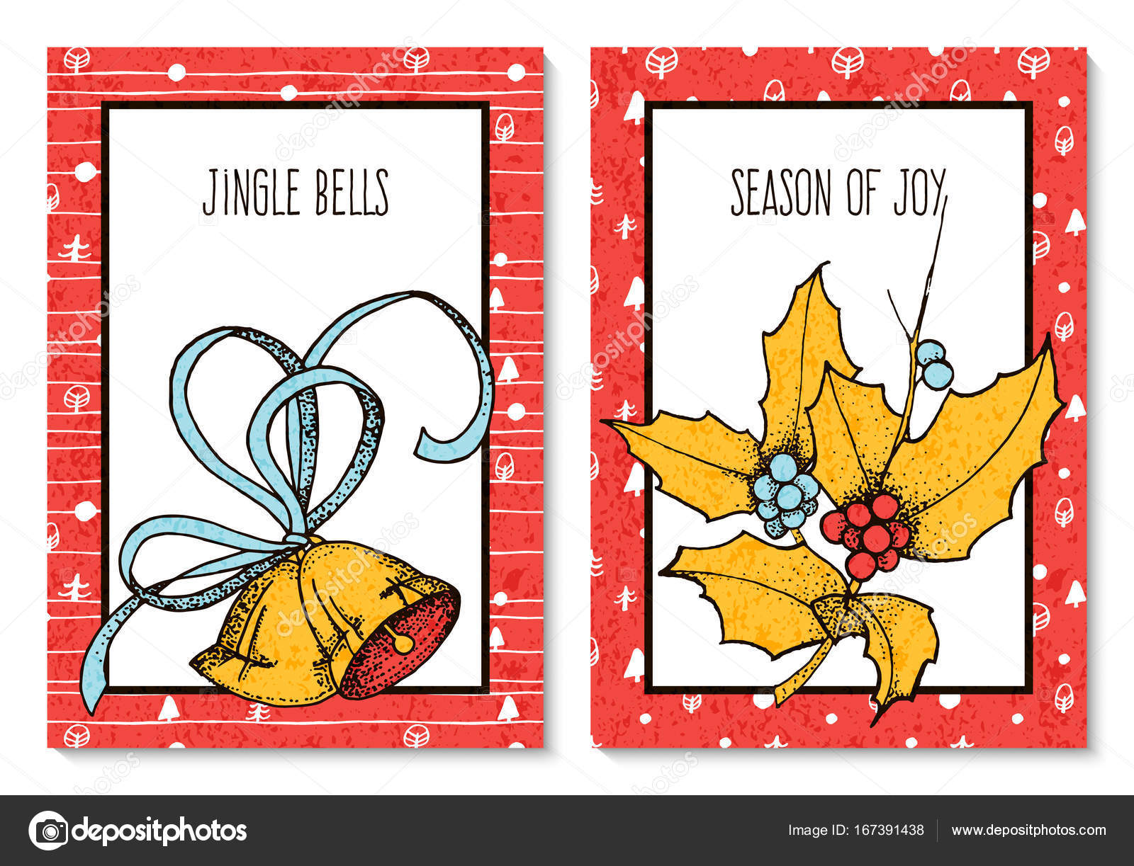 Portadas para tarjetas de navidad