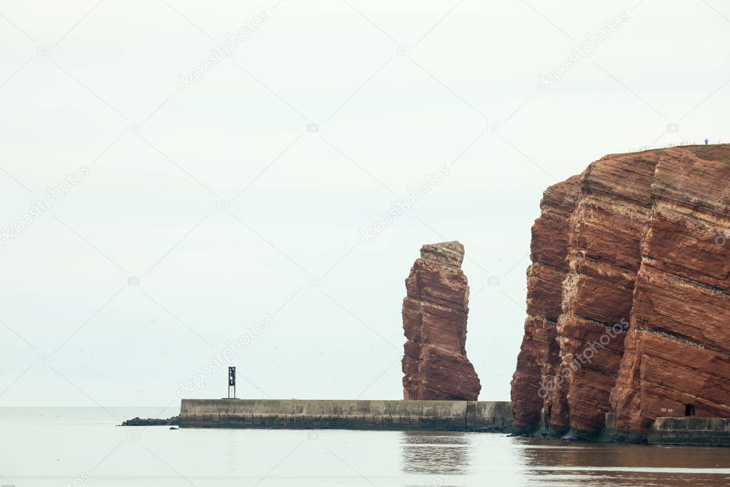 Lange Anna by Helgoland