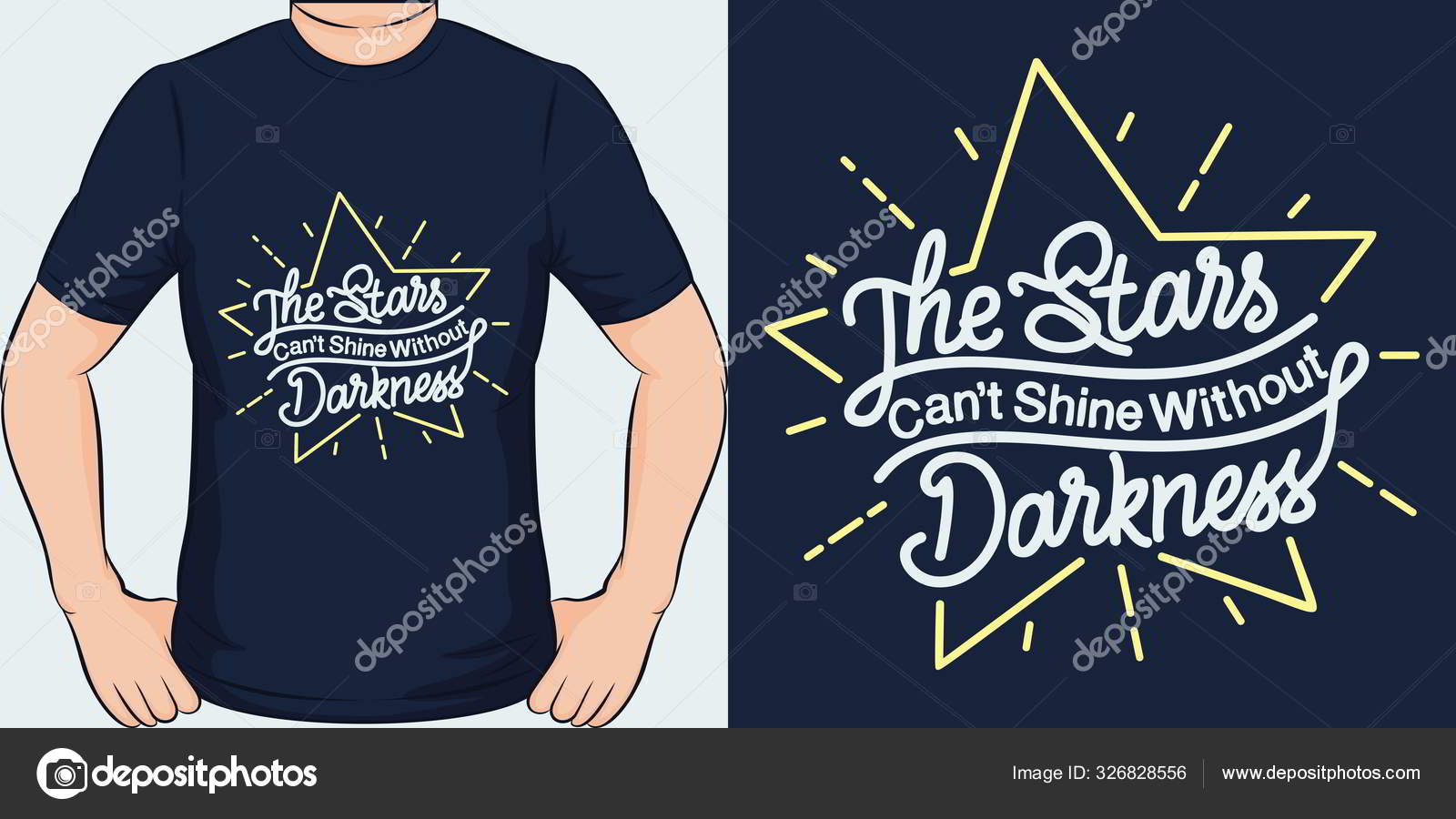 Stars Can Shine Darkness Unique Trendy Motivational