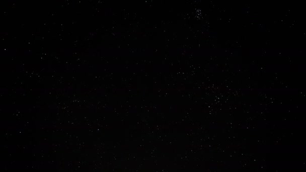 Dark night sky full of stars, galaxy and constellation motion,stars light shape