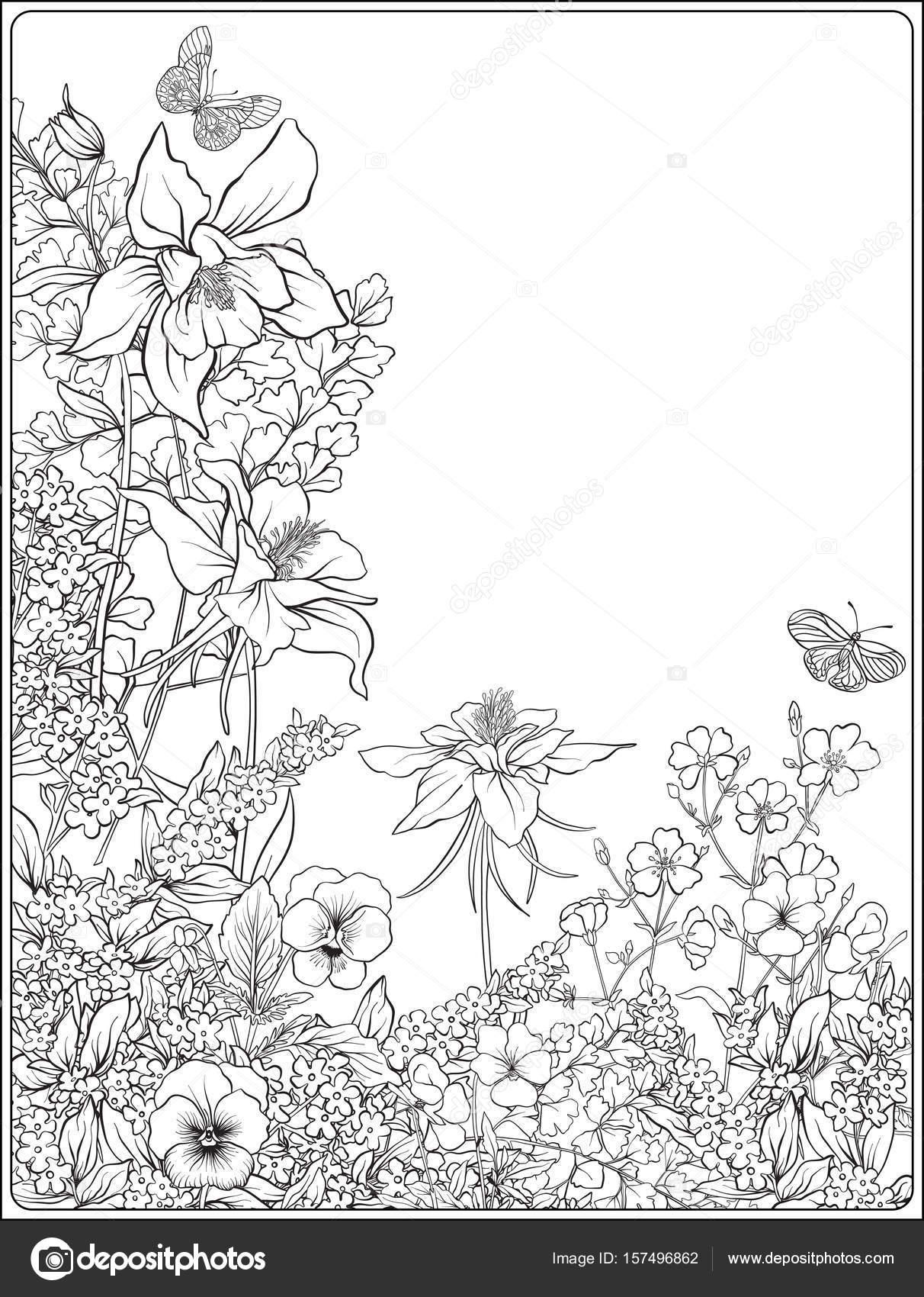 Samenstelling Met Lentebloemen Tulpen Narcissen Viooltjes Voor