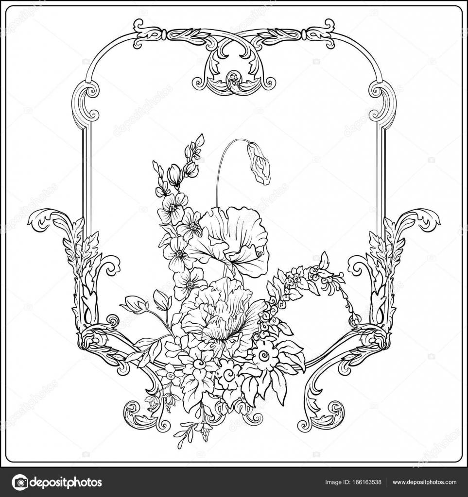 Flores de verano: anémona Narciso, la amapola, violeta, en botánica ...