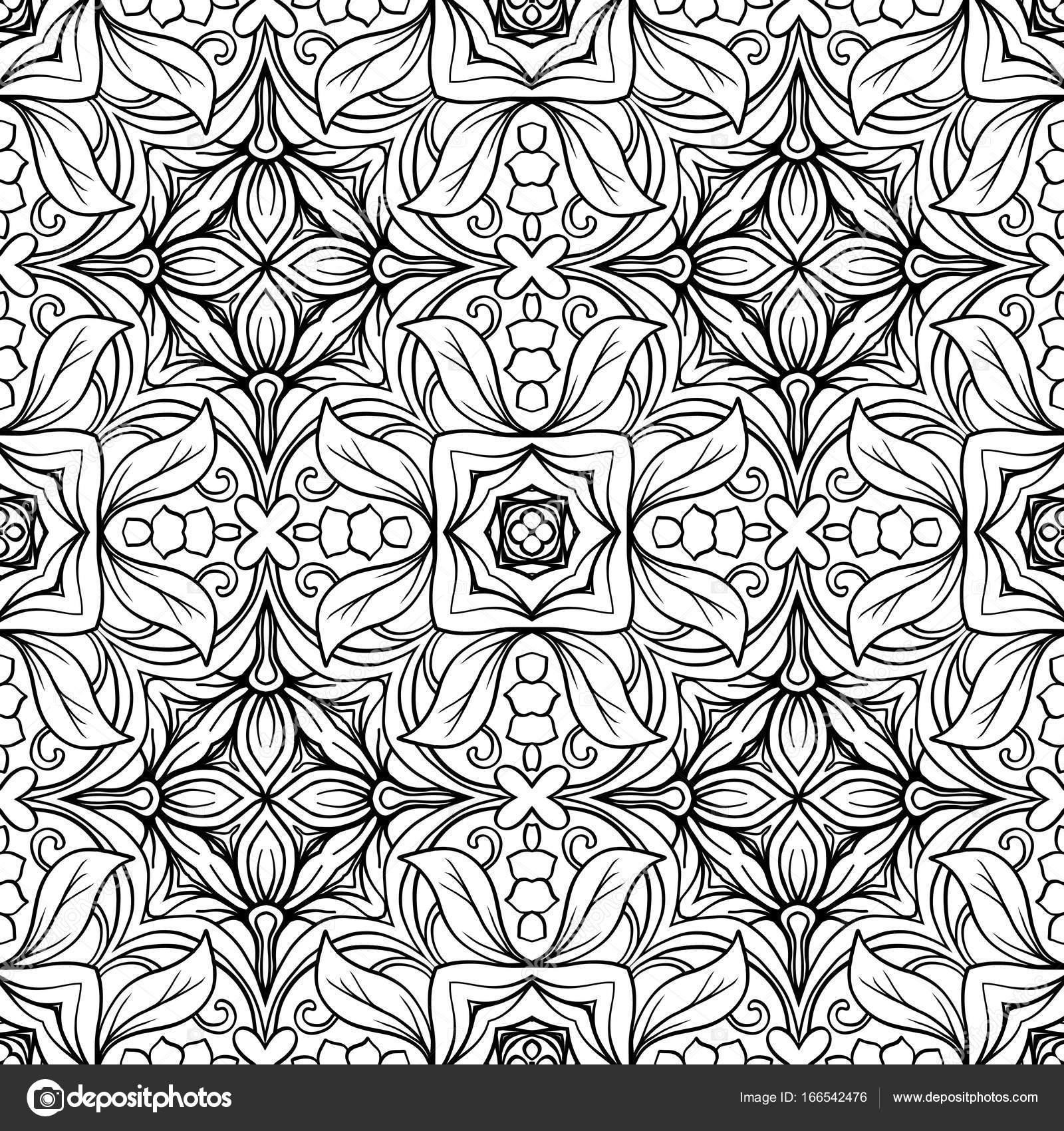 Beste Malvorlagen Für Geometrische Muster Galerie - Beispiel ...