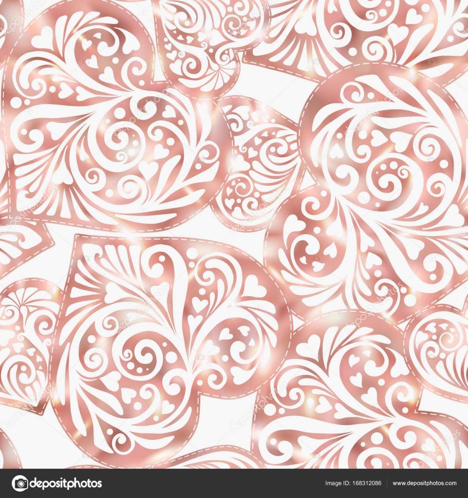 depositphotos 168312086 stock illustration love heart seamless pattern in