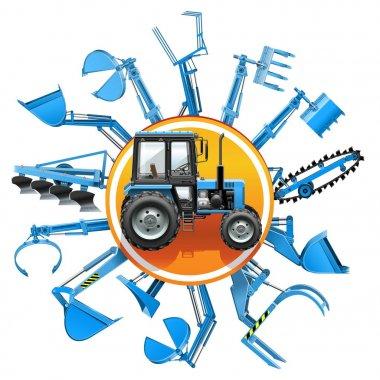 Vector Tractor Equipment Concept