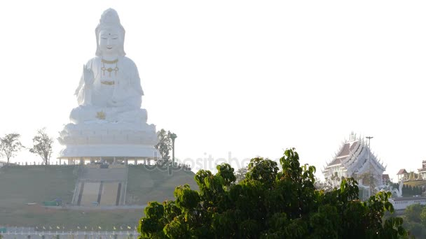 Wat Huay Plakang 9 Tier chrám Chiang Rai Thajsko 4k