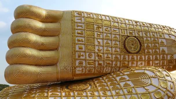 Szent Buddha lába Den Chai Thaiföld