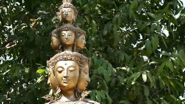 Buddha szobor hagy háttér 4k