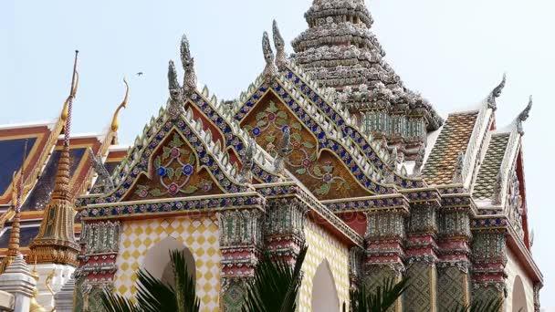 Wat Phra Kaew Thailand Bangkok Grand Palace Asia Palms 4k