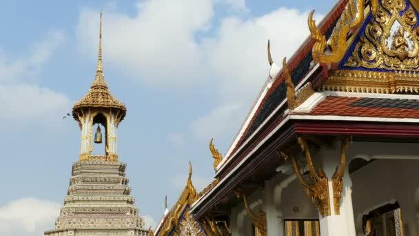 Asia Wat Phra Kaew Thailand Bangkok Grand Palace Clouds 4k