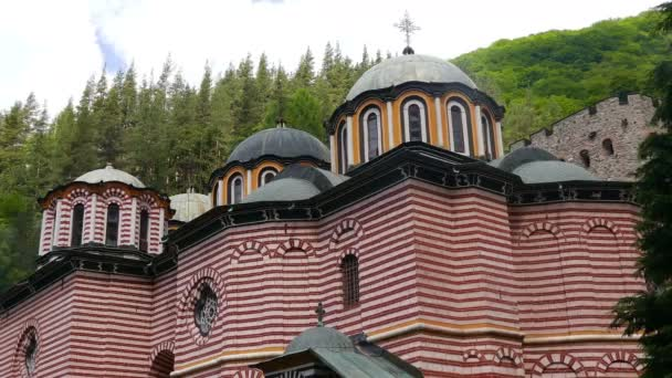 Famous Rila Monastery, founded in the 10th century in Bulgaria