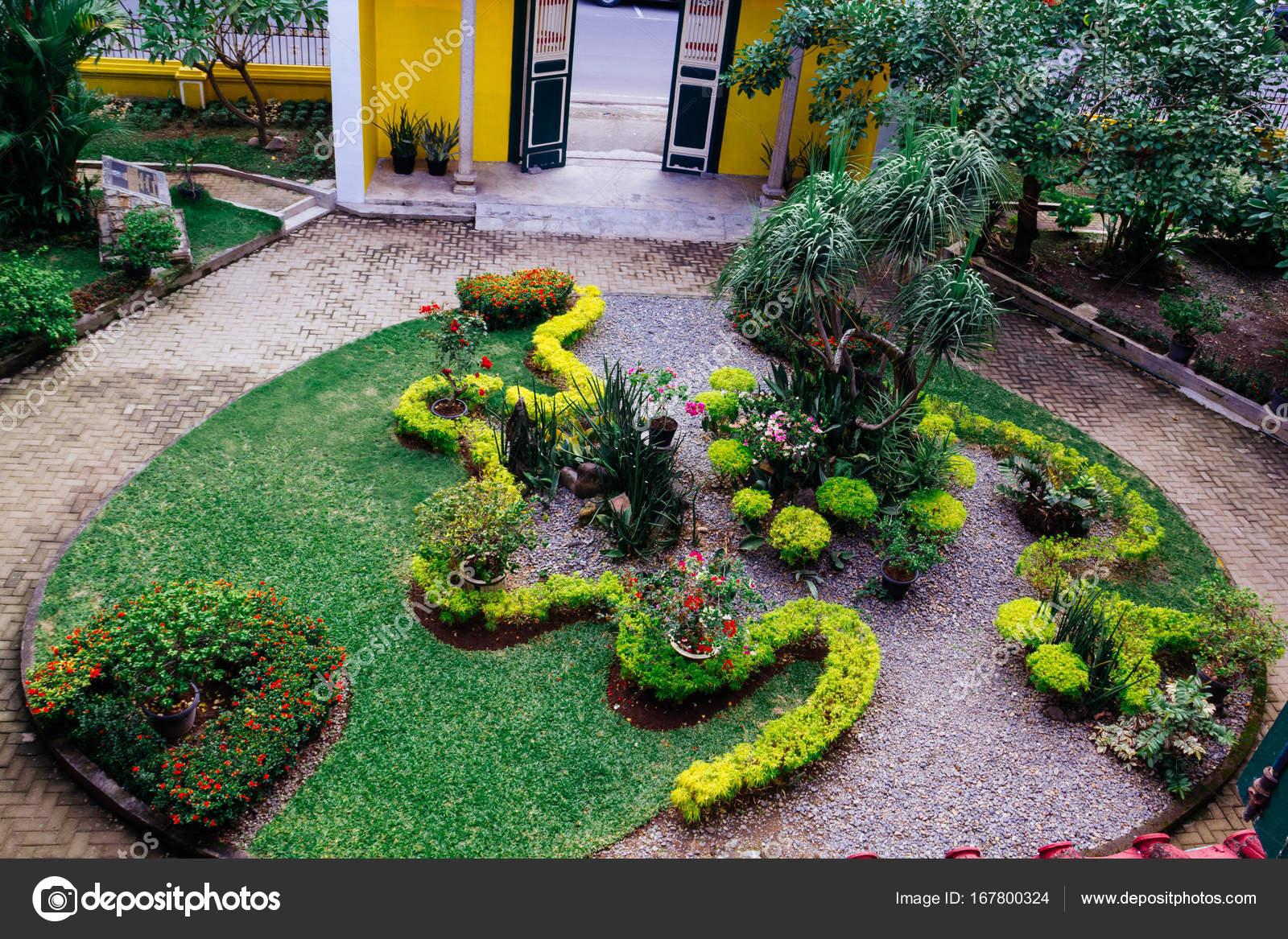Plantas ornamentales en jard n fotos de stock for 6 plantas ornamentales