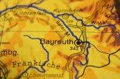 Fotografie Stadt Name Bayreuth auf der Karte