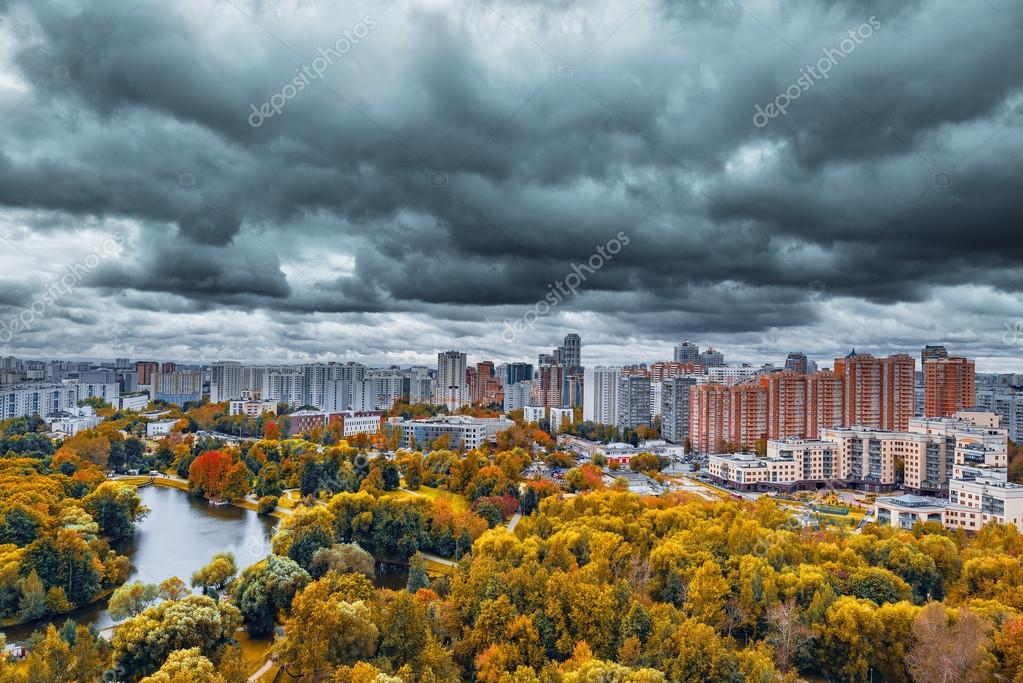Резултат с изображение за autumn city cloudy