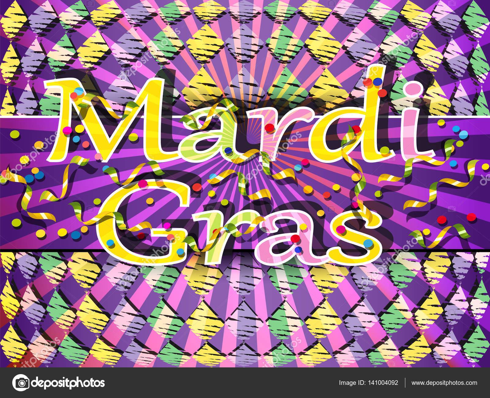 Fasching Karneval Farbigen Hintergrund Stockvektor C Serjio74b