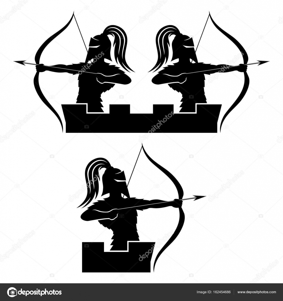 Warrior Archer Sign — Stock Vector © Taronin #162454686. Flame Signs. Volkswagen Stickers. Hook Drawing Stickers. Dahlia Flower Decals. Brz Decals. Dindi Logo. Cyclone Logo. Political Murals