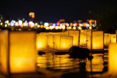 The Floating Lamp ,river lamp or lake lamp ,  lantern floating