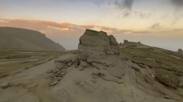 The Sphinx of Bucegi, at sunset