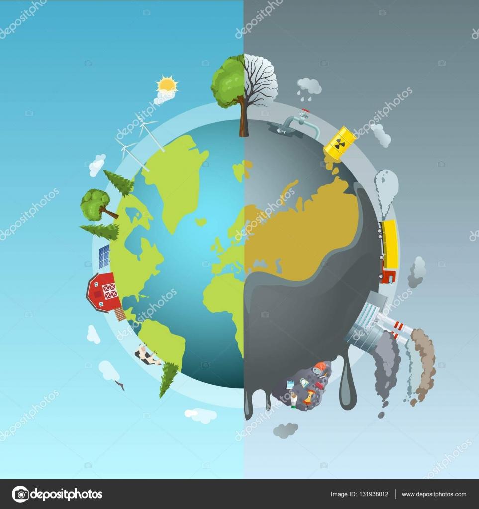 Imágenes Dibujo De La Contaminacion Contaminación Ambiental