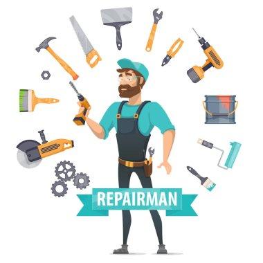 Repair Elements Round Template