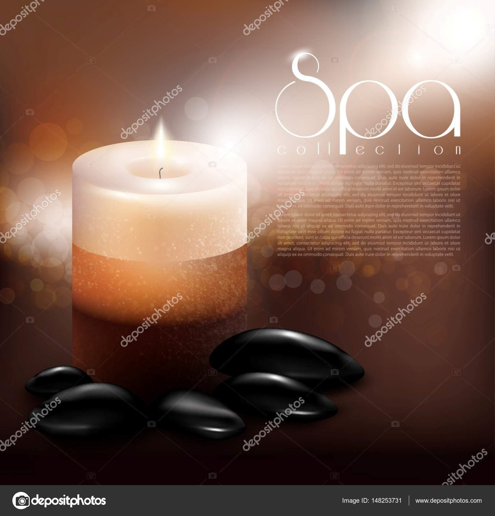 Plantilla de tratamiento Spa realista — Vector de stock © Mogil ...
