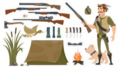 Hunting Elements Set