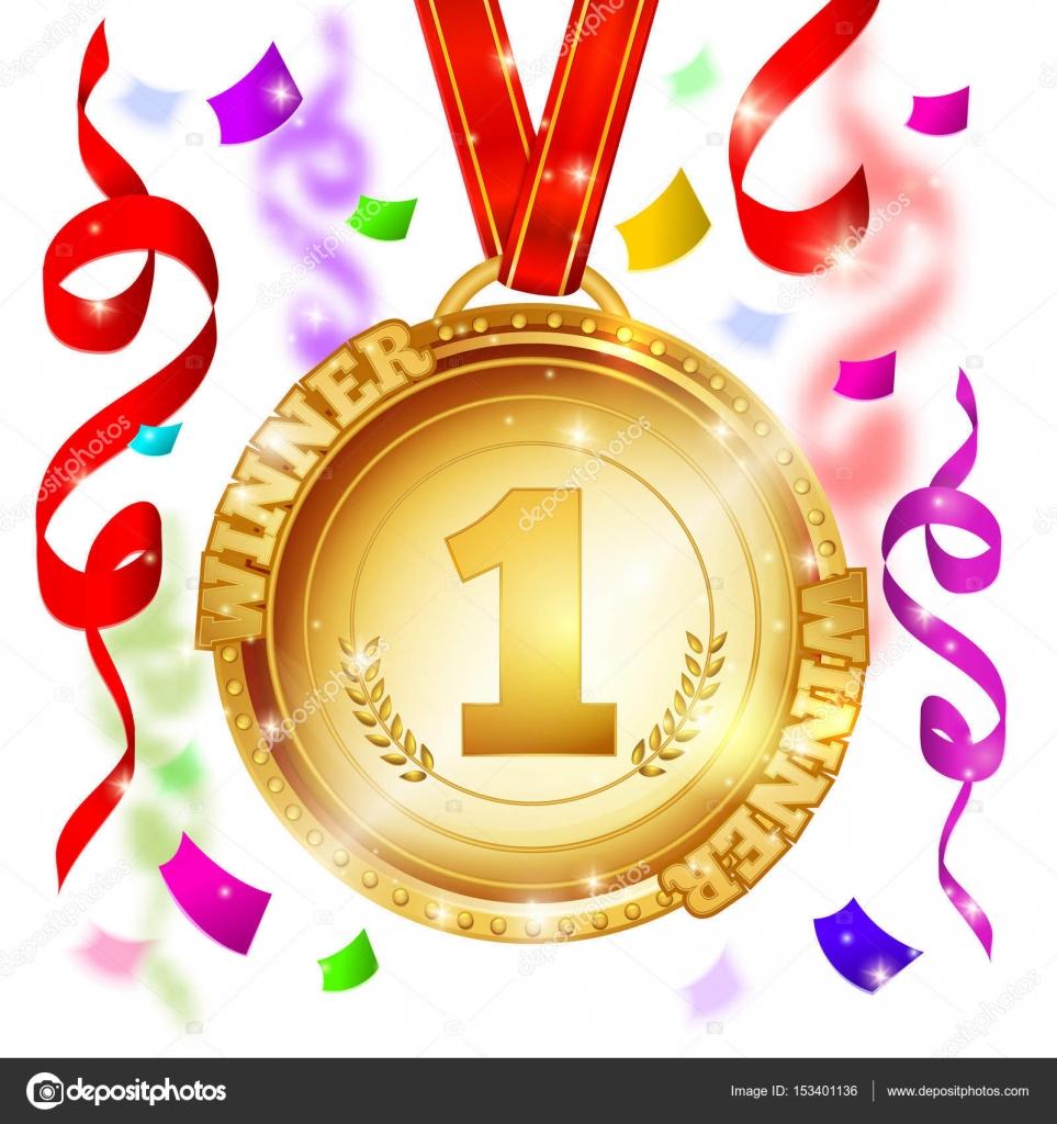 Medalla del diseño ganador — Archivo Imágenes Vectoriales © Mogil ...