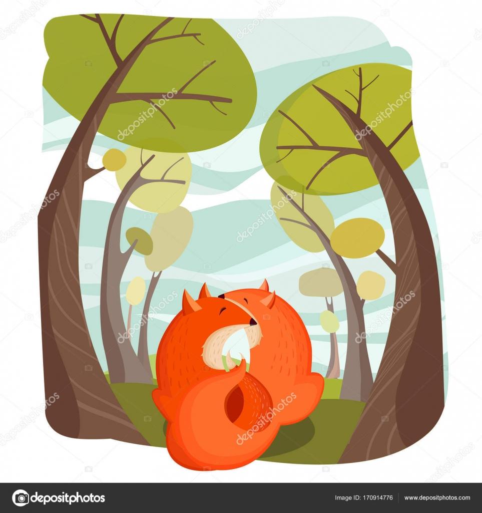 Plantilla De Dibujos Animados De Amor Animales Vector De Stock