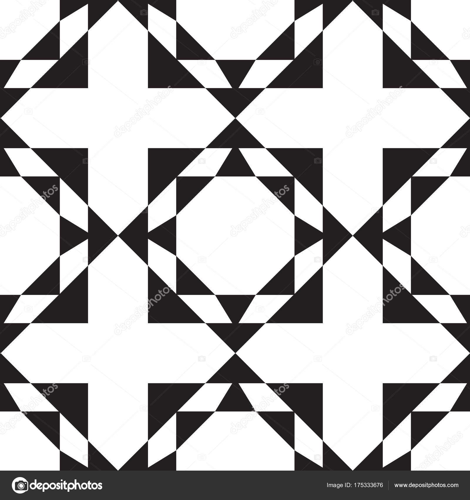 Motif sans couture avec ornement géométrique. Illustration ...
