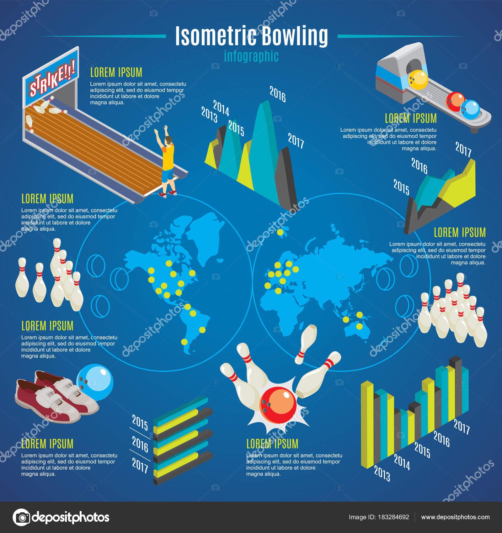 depositphotos_183284692 stock illustration isometric bowling infographic template isometric bowling infographic template stock vector © mogil 183284692